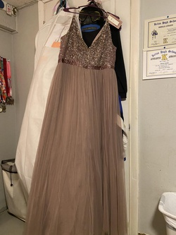 BHLDN Purple Size 22 Plus Size A-line Dress on Queenly