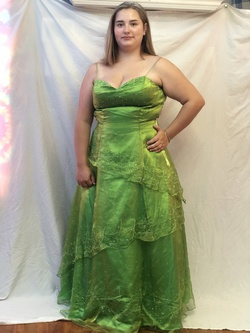 Queenly size 18  Green Straight evening gown/formal dress