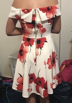 B. Darlin Red Size 6 Sorority Formal Wedding Guest Cocktail Dress on Queenly