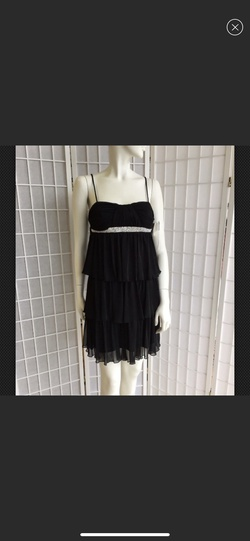 City Triangle Black Size 4 Ball gown on Queenly