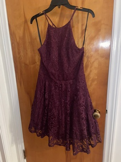 Queenly size 14 Windsor Purple Cocktail evening gown/formal dress
