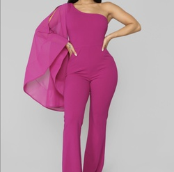 Pink Size 0 Jumpsuit Dress on Queenly
