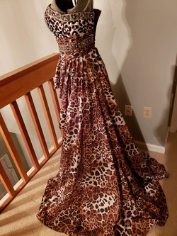 Tony Bowls Multicolor Size 4 Tall Height Train Dress on Queenly