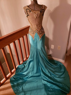 Multicolor Size 4 Mermaid Dress on Queenly