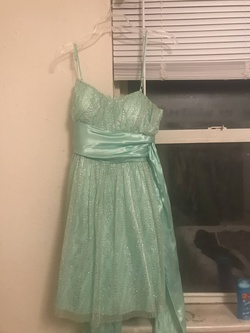 Queenly size 12  Green Cocktail evening gown/formal dress