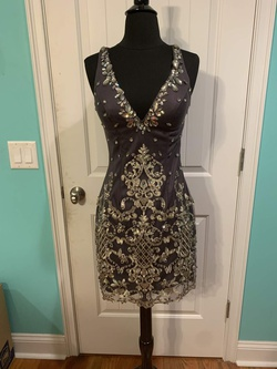 Jovani Multicolor Size 2 Sorority Formal Cocktail Dress on Queenly