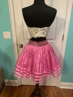 Rachel Allan Pink Size 2 Flare Homecoming Cocktail Dress on Queenly
