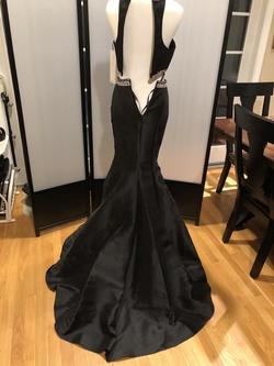 Landa Splash Black Size 0 Two Piece Embroidery Mermaid Dress on Queenly