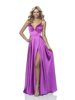 Style 11893 Blush Pink Size 0 Tall Height Side slit Dress on Queenly