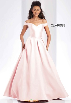Queenly size 14 Clarisse Pink Ball gown evening gown/formal dress