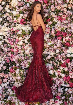 Style 5138 Clarisse Red Size 0 Burgundy Mermaid Dress on Queenly