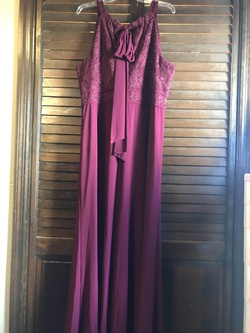 Morgan & Co Red Size 20 Prom Tall Height Straight Dress on Queenly
