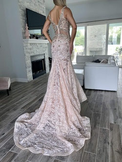 Mac Duggal Pink Size 2 Tall Height Custom Train Dress on Queenly