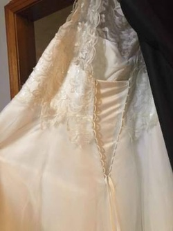 Michelle Bridal White Size 22 Wedding Corset Ball gown on Queenly