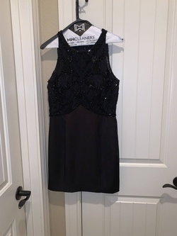 Queenly size 12  Black Cocktail evening gown/formal dress