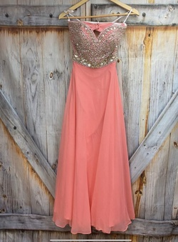 Tony Bowls Orange Size 0 A-line Dress on Queenly