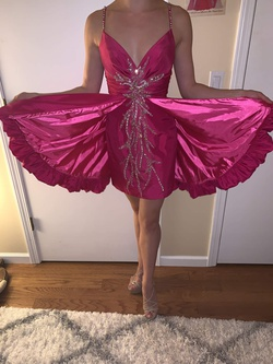 Mac Duggal Pink Size 2 Custom Cocktail Dress on Queenly