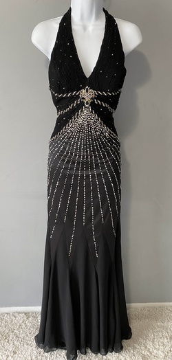 Queenly size 12 Prima Donna Black Straight evening gown/formal dress