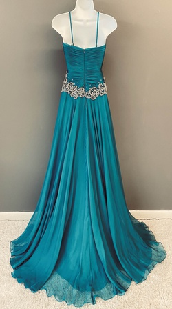 Mac Duggal Blue Size 6 Tulle Sweetheart Macduggal Side slit Dress on Queenly
