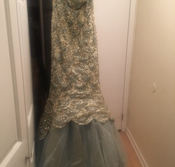 Sherri Hill Multicolor Size 4 Prom Sweetheart Mermaid Dress on Queenly