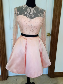 Queenly size 2  Pink Cocktail evening gown/formal dress