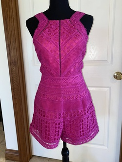 Adelyn Rae Pink Size 2 Jumpsuit Cocktail Dress on Queenly