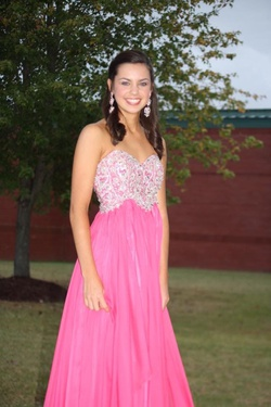 Sherri Hill Pink Size 0 Tall Height A-line Dress on Queenly