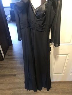 Abby Paris Black Size 16 Pageant Straight Dress on Queenly