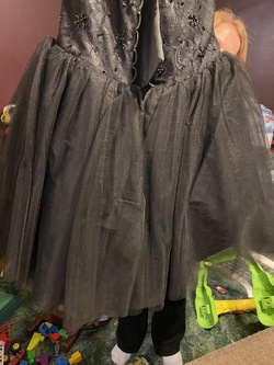 Black Size 16 Ball gown on Queenly