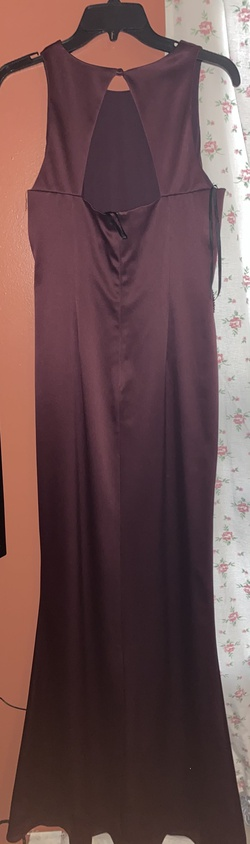 Eliza J Purple Size 8 Short Height Shiny Straight Dress on Queenly