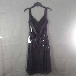 City Studio Black Size 6 Jewelled Sorority Formal Cocktail Dress on Queenly