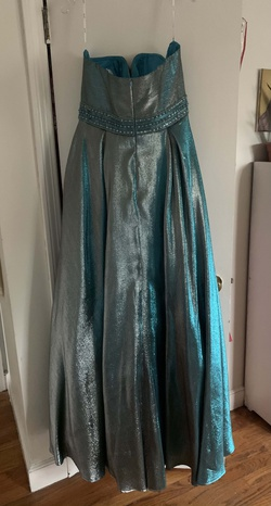 Angela and Allison Multicolor Size 20 Prom Ball gown on Queenly