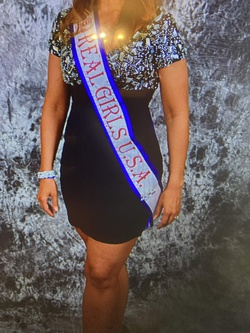 Sherri Hill Black Size 8 Sorority Formal Homecoming Cocktail Dress on Queenly