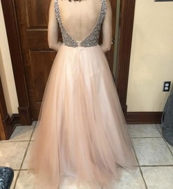 Multicolor Size 0 Ball gown on Queenly