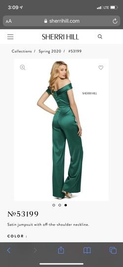 Sherri Hill Black Size 4 Jumpsuit Dress on Queenly