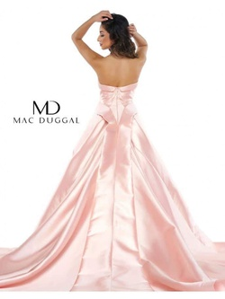 Mac Duggal Pink Size 0 Train Ball gown on Queenly