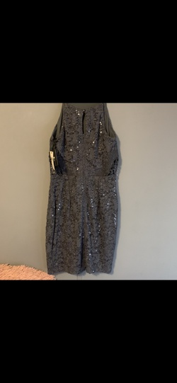 Silver Size 8 Cocktail Dress on Queenly