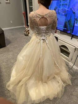 Tiffany Designs Gold Size 4 Quinceanera Ball gown on Queenly