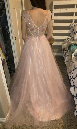 Gianni Bini Light Pink Size 2 Fun Fashion A-line Dress on Queenly