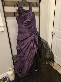 Queenly size 14  Purple Ball gown evening gown/formal dress