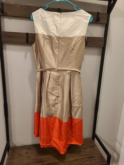 Jessica Howard Gold Size 10 Interview A-line Dress on Queenly