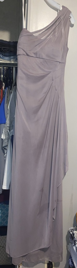 Queenly size 2 Davids Bridal Purple Straight evening gown/formal dress