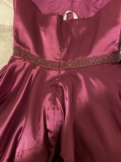Sherri Hill Purple Size 10 Custom A-line Dress on Queenly