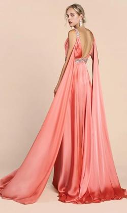 Cinderella Divine Pink Size 4 Mini Prom Silk Side slit Dress on Queenly