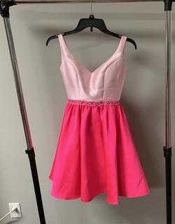 Ellie Wilde Pink Size 00 Corset Cocktail Dress on Queenly