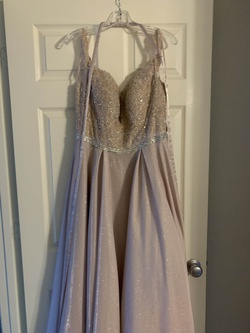 Pink Size 14 A-line Dress on Queenly