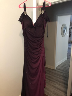 Queenly size 16  Purple Mermaid evening gown/formal dress