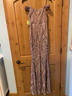 Pink Size 2 Mermaid Dress on Queenly