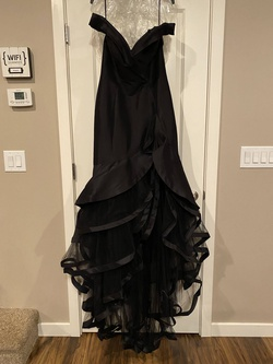 Queenly size 12 Mac Duggal Black Mermaid evening gown/formal dress