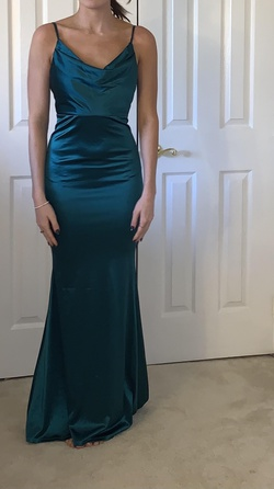 Hello Molly Green Size 2 A-line Dress on Queenly